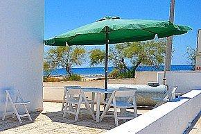 Villetta sul mare direttamente sulla spiaggia