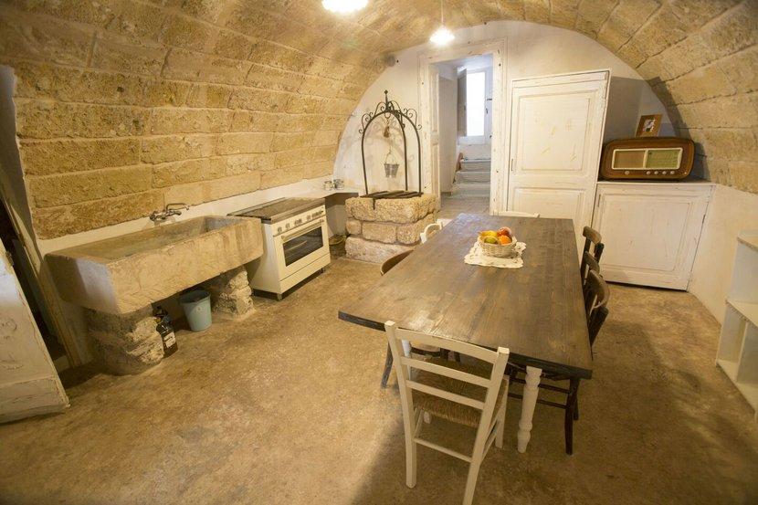 Vacanze in puglia affitto antica tavernetta in centro - Cucina per tavernetta ...