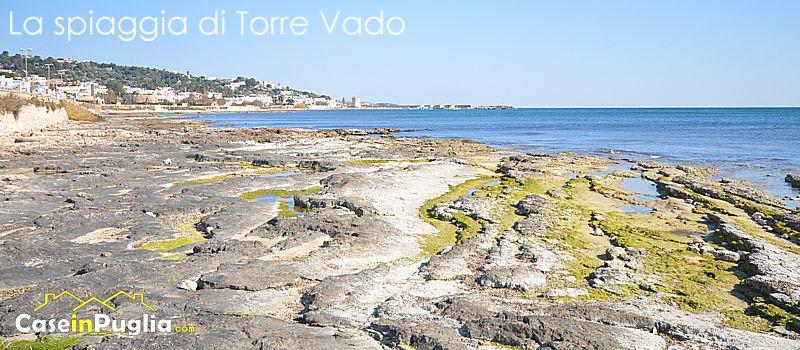 La spiaggia di torre vado spiagge salentine - Torre specchia spiaggia ...